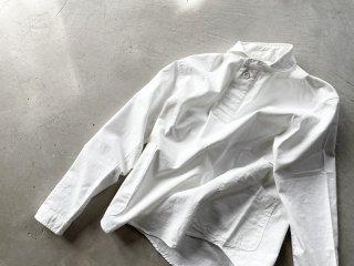 LOLO ロロ / プルオーバーシャツ ホワイト