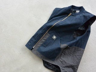 MOUNTAIN RESEARCH マウンテンリサーチ / Logger's Vest navy