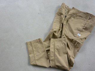 SASSAFRAS ササフラス / Fall Leaf Sprayer Pants Weather beige