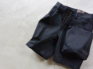TROVE gearholic / BIG POCKET SHORTS black denim