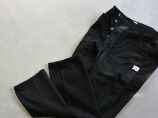 SASSAFRAS ササフラス / Fall Leaf Tough Pants work satin black
