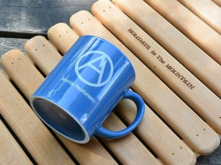 MOUNTAIN RESEARCH マウンテンリサーチ / Mug Cup blue