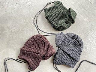 SOUTH2 WEST8 / Bomber Cap - w/a Knit black