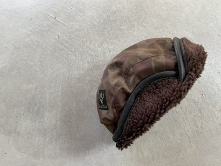 SOUTH2 WEST8 / Bird Shooting Cap - Nylon Tasser / Camo Pt. brown