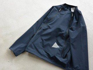 and wander アンド ワンダー / trek pullover navy
