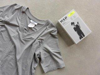 MXP / FINE DRY HALF SLEEVE V-NECK women's gray