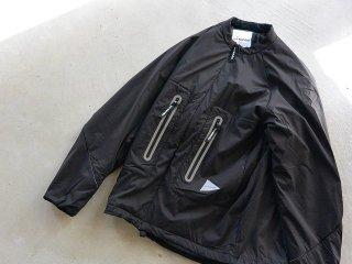 and wander アンド ワンダー / alpha jacket black