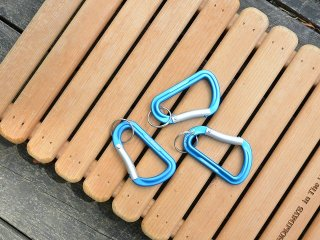 MOUNTAIN RESEARCH マウンテンリサーチ / Carabiners blue