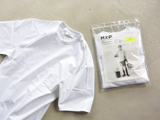 MXP / DRY JERSEY BIG TEE WITH POCKET men's white