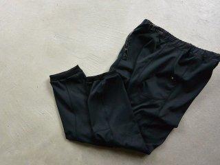and wander アンド ワンダー / back nap raising pants black