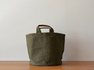 ateliers PENELOPE アトリエペネロープ / #6 Cylinder Bag Olive