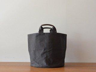 ateliers PENELOPE アトリエペネロープ / #6 Cylinder Bag Charcoal