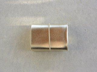 irose イロセ / SEAMLESS COMPACT WALLET silver