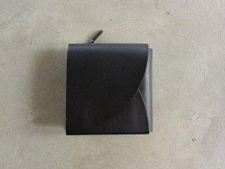 irose イロセ / FOLD SHORT WALLET black