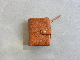 CINQ サンク / 2つ折り財布 キャメル