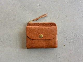 CINQ サンク / 小さめの財布 キャメル