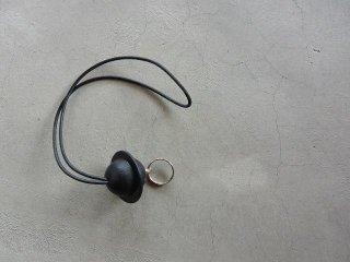irose イロセ / planet reel key holder black