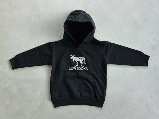 COWBOOKS カウブックス / KIDS hoodie black