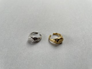 Soierie ソワリー / Aging pinky cuff ring (1P)