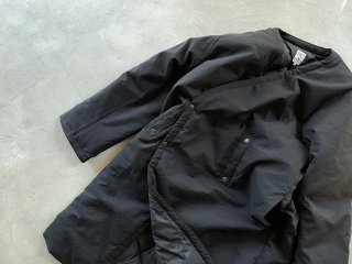 SOUTH2 WEST8 / V Neck Down Coat - Poly Ripstop black