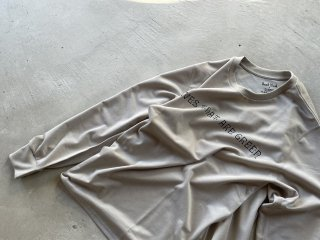 SOUTH2 WEST8 / L/S Crew Neck Tee - LEAVES THAT ARE GREEN grey