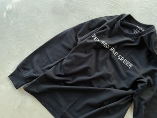 SOUTH2 WEST8 / L/S Crew Neck Tee - LEAVES THAT ARE GREEN black