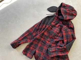 MOUNTAIN RESEARCH マウンテンリサーチ / Hooded MT Shirt check