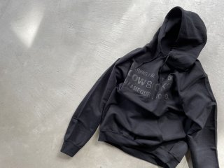 COWBOOKS カウブックス / Book Vendor hoodie black×black