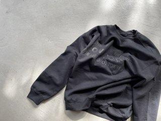 COWBOOKS カウブックス / Book Vendor Sweatshirt black×black