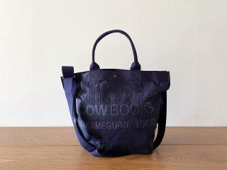 COW BOOKS カウブックス / Bucket Shoulder navy × navy