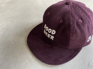 TACOMA FUJI RECORDS / GOOD BEER CAP burgndy