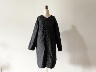 ORCIVAL オーシバル / キルト ノーカラーコート black