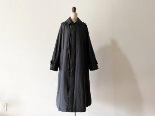 LE GLAZIK  ルグラジック / ダウン フレア コート black