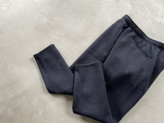 SOUTH2 WEST8 / 2P Cycle Pant - Poly Fleece houndtooth Pt. navy