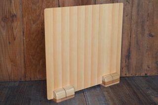 木製卓上衝立(桧)