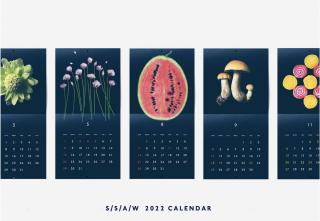 たかはしよしこさん お野菜カレンダー2022