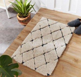 [80×50] 長方形ラグ シャギーラグ 玄関