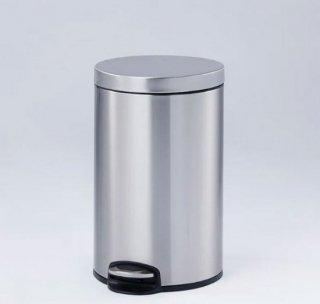 [12L] ゴミ箱 ふた付き ペダル付き ステンレス